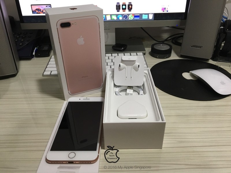 Iphone 7 Plus Rose Gold Unboxing 25techgeek