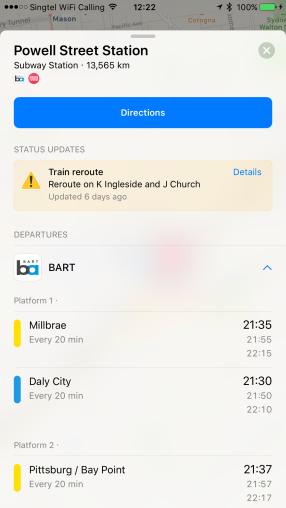 San Francisco's Transit Info