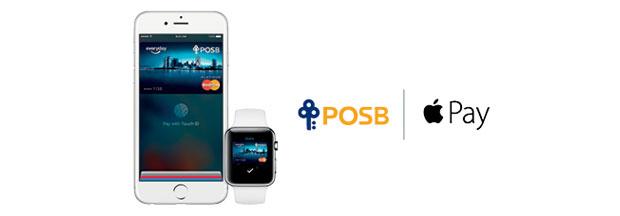 posb apple pay
