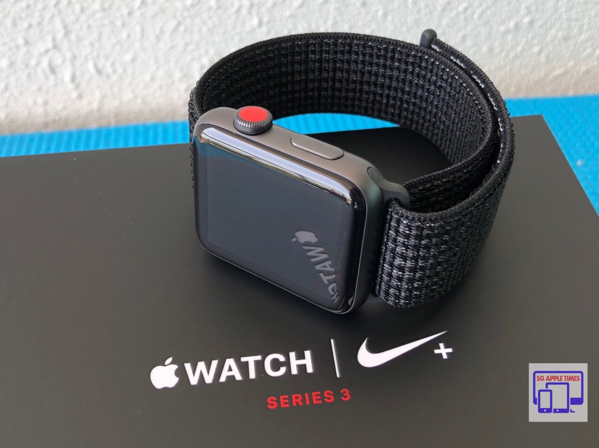 Surichinmoi Derechos de autor sufrimiento  Apple Watch Nike+ (GPS + Cellular) – 42mm Space Grey Unboxing! [Gallery] –  25TechGeek