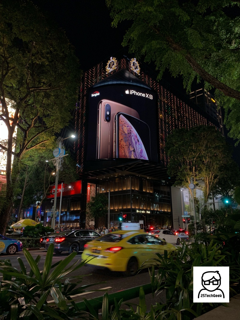 iPhone XS Ad - Orchard Road - 2