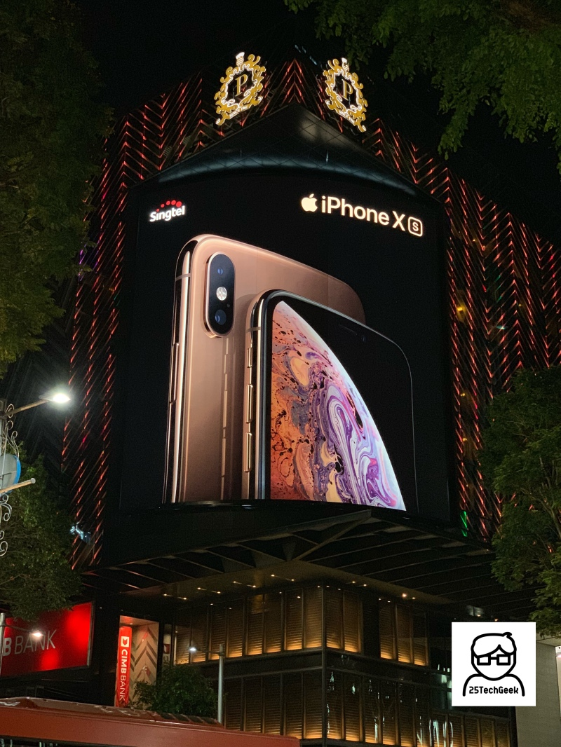 iPhone XS Ad - Orchard Road - 3