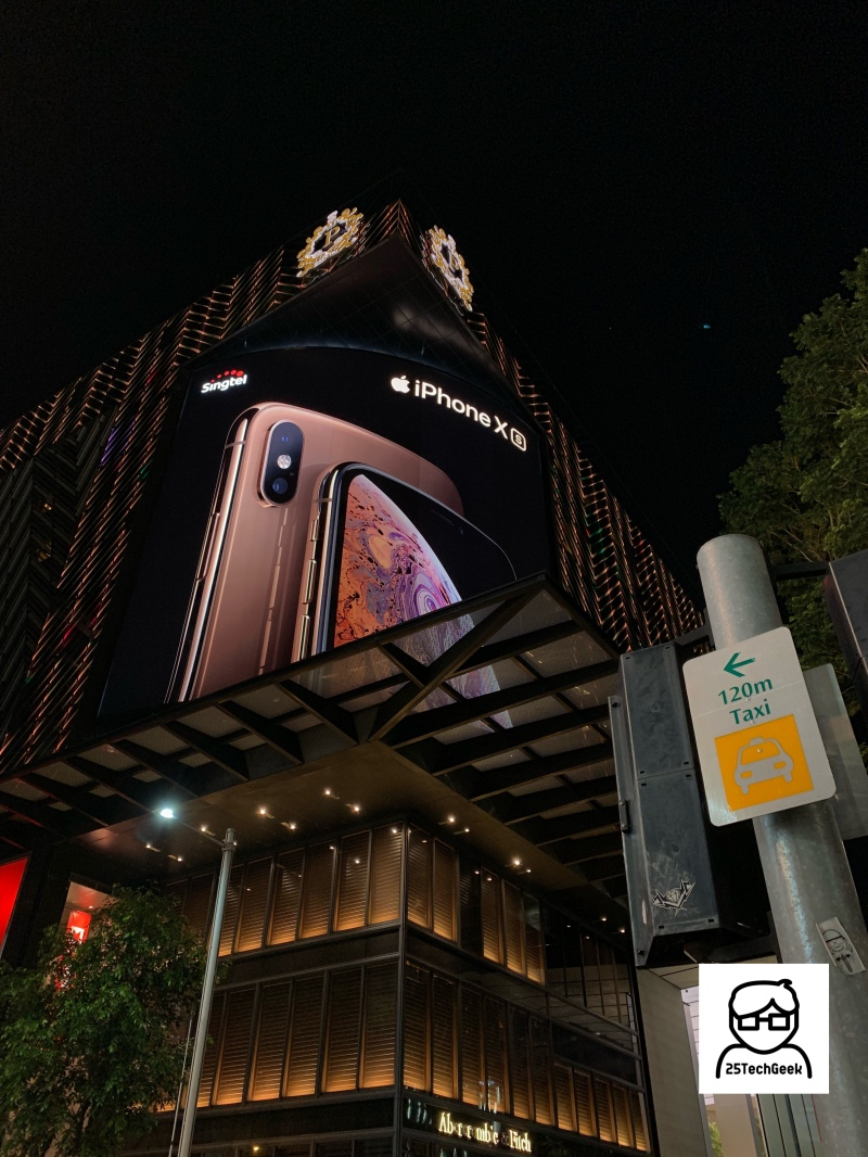 iPhone XS Ad - Orchard Road - 7